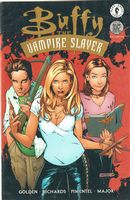 Buffy The Vampire Slayer #21 - Dynamic Forces Gold Foil Cover Variant